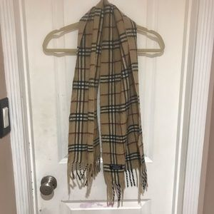 Burberry vintage cashmere scarf